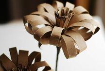 Bricolage en rouleaux de papier toilettes