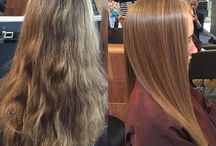 Brazilian Blowout / Do you struggle with frizzy hair in the spring/summer humidity?