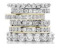 Eternity Rings - Eternity Bands / Whats is an eternity ring? It symbolizes love and friendship. Wear them stacked, or individually. High quality diamond eternity rings that are a timeless bond between two people.