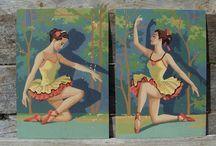 hang me: vintage paint-by-numbers