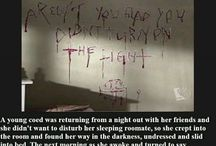 Creepy and scary storylines and stuff 101