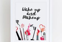 Makeup organization&decoration