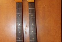 Graceful Necks / A variety of guitar necks finished any way you want.