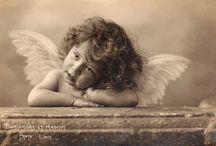 angel decoupage