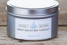 SCENTED SOY CANDLE TRAVEL TINS / Great South Bay Candle are individually hand poured using 100% natural soy wax, cotton wicks and fragrance oils infused with essential oils. Shop at www.greatsouthbaycandles.com for our complete line of candles.