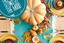Fall Decorating / When the temperature turns cooler, and the skies are blue, suddenly I'm in the mood to start decorating my house for Fall.  Fall decorating ideas, Fall DIY projects
