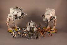 Star Wars Imperial Assault / Miniatures and related images for the miniatures board game from Fantasy Flight Games.