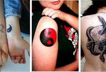 Yin Yang Tattoos / Yin Yang tattoo is a kind of body art that has great significance to the Chinese people... http://fabulousdesign.net/yin-yang-tattoos/