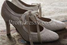 Vintage shoes, dress, acc