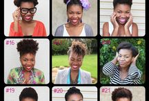 Natural Black Caribbean Hair styles / Natural hairstyles for black afro hair