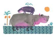 Hippopotamus / Hippopotamus かば