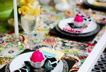 BOLD BRIGHT colorful events