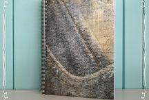 Handmade / Zelfgemaakte journals, kalenders, notitieboeken, agenda's etc.  www.BooLL.nl