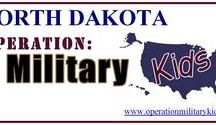 North Dakota Operation Military Kids (OMK) / The Mission: To support youth of North Dakota military families from all branches of service through collaboration with community partners during all stages of deployment including peacetime.