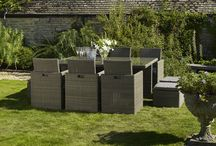 Versatile and compact / Versatile and compact Constructed using 3mm latte round weave the cube dining sets are favoured as stylish and practical space saving solutions. Featuring folding chair backs and in-built footstools this attractive all weather furniture is perfect for the urban garden where space is so often at a premium. Bramblecrest's stylishly sleek set will look fantastic in any garden…   6 Seater http://www.bramblecrest.com/product/RWQR006S  4 Seater http://www.bramblecrest.com/product/RWQS004S
