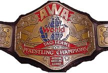 Wrestling Belts / The Best and Worst Pro Wrestling Belts through the years. Some boxing and MMA belts every now and then.