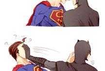 supermen x batmen
