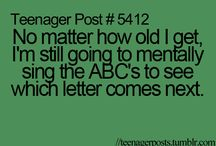 Teenager post / #...#...#... / by Alexis Smith