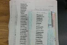 student lists