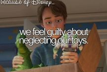 Because of Disney / Things we've learnt from Disney