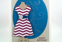 Dress Form/Stampin Up