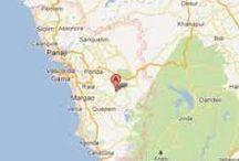 Distance between Mumbai to Goa