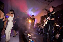 Hipswing Lighting at Wrenbury Hall / Hipswing are our preferred supplier for all your DJ, Lighting, Dancefloor and Staging needs