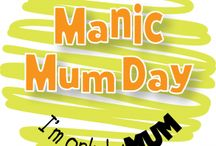 Manic Mum Day / Use the #manicmumday hashtag to share the mundane, embarrassing, funny, or just plain cringey things that become the norm as a parent for us fellow members of the woldpack to  celebrate them.