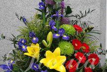 Květinové koše - Flower baskets - Цветочные корзины / Květinové koše - Flower baskets - Цветочные корзины