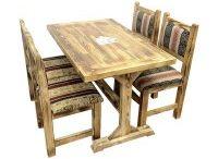 Ahşap Sandalye Masa