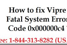 How to Fix Vipre Fatal System Error Code 0x000000c4?