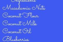 Coconut blueberry scones gf / Gf