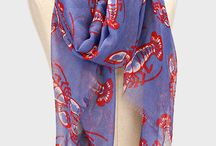 Sealife Inspirations / Scarves and jewelry for beach lovers and lobster bakes