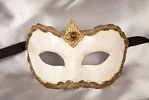 Wedding Masks / A selection of masks ideal for your masquerade wedding