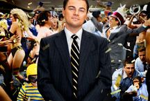 """The Wolf of Wall Street Collection / Starring Leonardo DiCaprio, Jonah Hill, Matthew McConaughey, The Wolf of Wall Street movie is based on true story of """"Jordan Belfort, the New York stockbroker who, along with his merry band of brokers, makes a gargantuan fortune by defrauding investors in the 1990s."""" Our Wolf of Wall Street collection is of big accessories, big cufflinks, tie bars, tie tacks, lapel pins, as bigger was better for The Wolf of Wall Street Gang."""