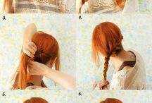 Hair - Health - Beauty  / Beautiful Hair and make up ideas with tips for healthy body  / by Larissa Haward