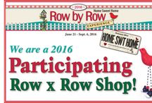 2016 Row by Row / 2016 Row by Row at Native Life Store in Browning, Montana.  www.nativelifestore.com