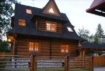 Stylowe domy w górach