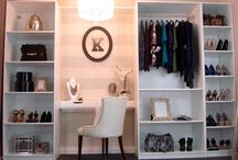 closet space / by Sarah Hallums