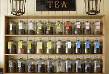 Tea shop design