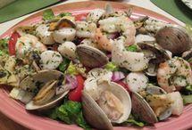 Salads with Seafood