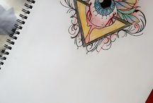 MY OWN DRAWINGs / These pictures where drew by yours truly (ME) however, i did not design them.