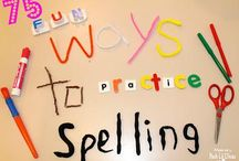 Spelling / Fun and simple ways to practice spelling in your homeschool.