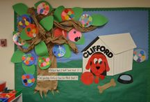 Bulletin Boards: Clifford the Big Red Dog / by Polly Wickstrom