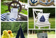 Nautical Baby Shower Ideas / by Carla Gilbert