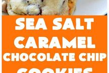 Caramel chocolate chip cookie