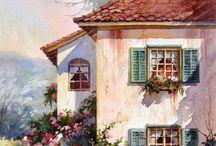 Цветущие дворики.