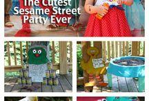 Sesame Street Decorations / by Melissa Penut