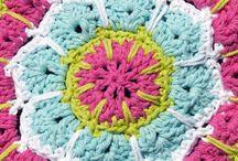 Crochet - mandalas / Mandalas