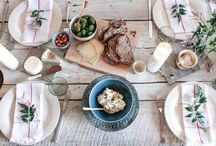 Table settings / - Inspiration for creative table settings -
